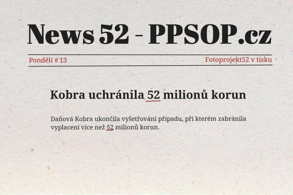 FOTOPROJEKT52 v tisku #13